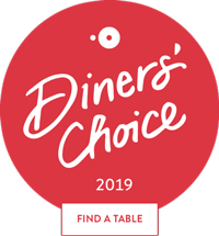 OpenTable Diners Choice Award 2019 - Book Now