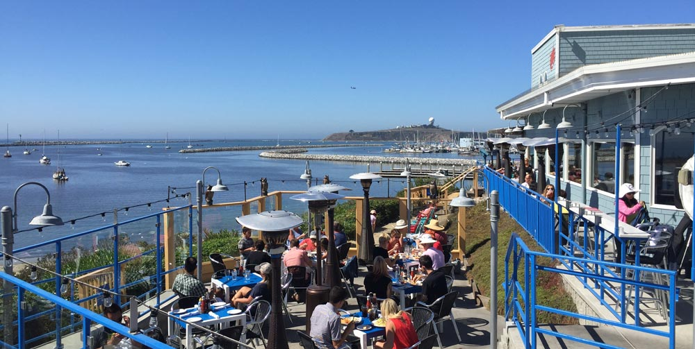 Sam's Chowder House - among Food & Wine's 100 most scenic restaurants