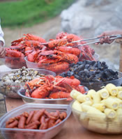 Sam's Chowder House offsite catering for graduation parties, corporate events, reunions and other special events
